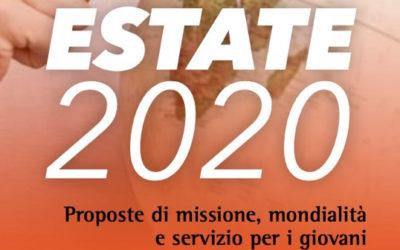 Estate 2020: Proposte di missione, mondialità e servizio per i giovani
